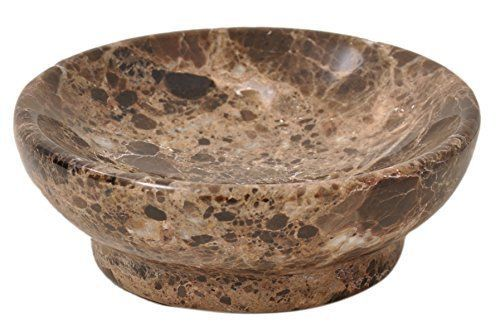 Brown-Marble-bar-soap-dish-holder-for-the-shower-and-bathroom-sink-accessories