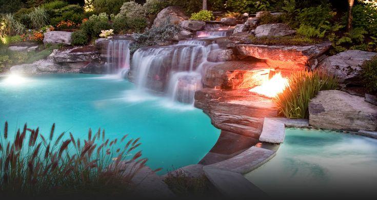 fiberoptic landscapes | 2013 Best Custom Swimming Pools-Cipriano Landscape Design NJ