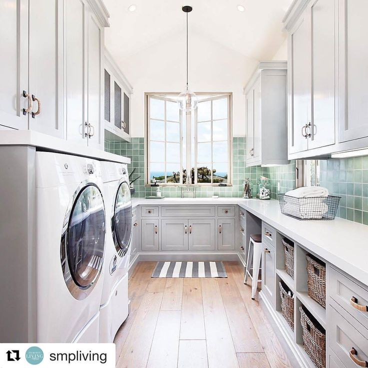"""40 Likes, 2 Comments - Build Prestige Homes (@build_prestige_homes) on Instagram: """"#Repost @smpliving with @repostapp ・・・ #BPHloves this #gorgeous #laundryroom   Photography:…"""""""