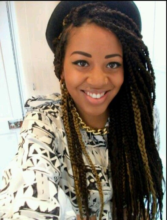 68 Best Box Braids Images On Pinterest