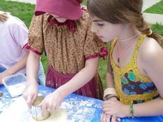 Pioneer Day crafts activities and other recipes