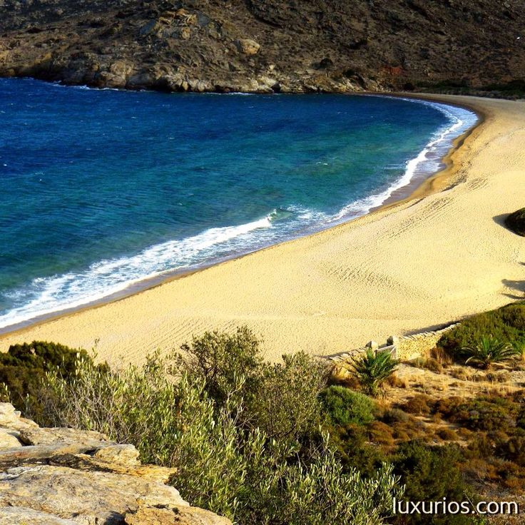 Kalamos beach in IOS Island