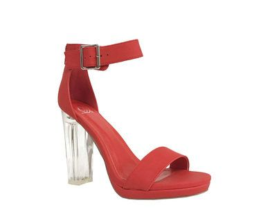 0690c5940ab87d CARGO! women s clear heel ankle strap sandals  lustacious  highheels ...
