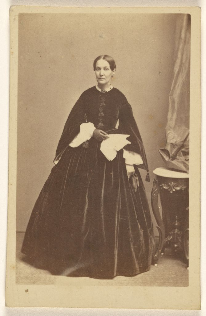 68 best cartes de visite and cabinet cards images on pinterest unidentified woman wearing a long dark dress holding a kerchief standing getty museum publicscrutiny Choice Image