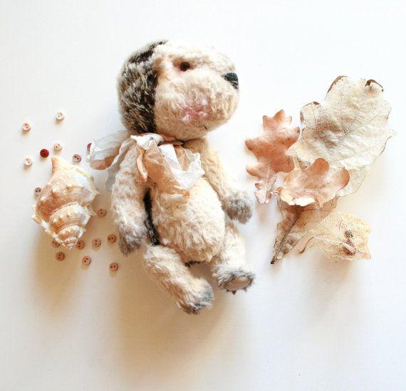 Teddy Bears friends, ooak Toy, Artist Hedgehog Artist Jointed Hedgehog by CreaturesPretenders, $115.00 #teddybears #handmadetoy #collectivetoy
