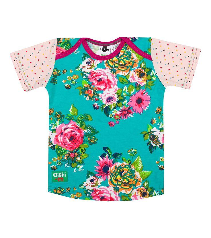Bloom Shortsleeve T Shirt, Oishi-m Clothing for kids, HiSummer 2016, www.oishi-m.com