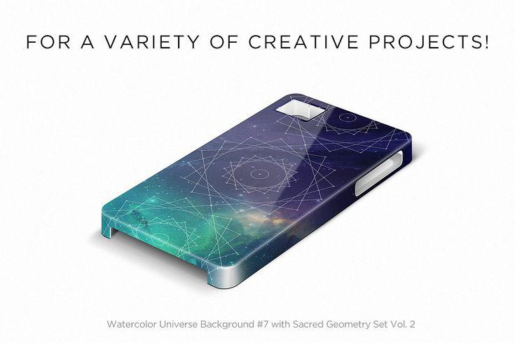 Sacred Geometry Vector Bundle by skyboxcreative on @creativemarket
