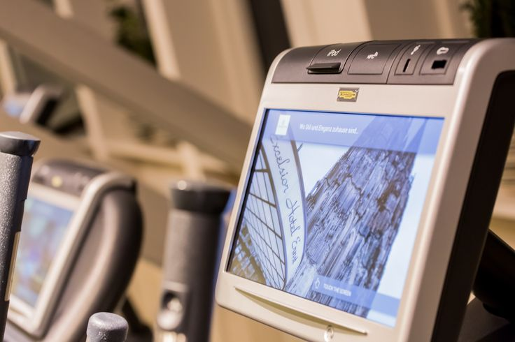 Highest technology equipment in the fitness area