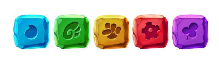 Gems, 2d mobile game