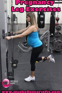 This is great! #Pregnancy #Exercises For The Legs That You CAN Do while pregnant and also shows which ones you should NOT do while #pregnant.  Great resource for pregnancy #fitness and #nutrition.