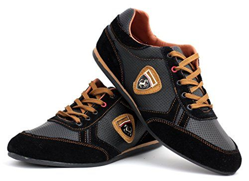 Scarpe Da Ginnastica Da Uomo Casual Pizzo Pelle Abito Elegante scarpe misura inglese: Amazon.it: Scarpe e borse