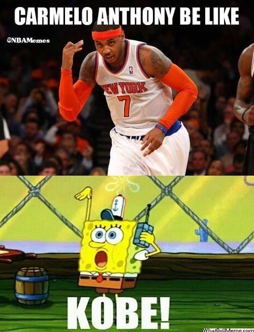 Carmelo Anthony Logic! - http://weheartnyknicks.com/nba-funny-meme/carmelo-anthony-logic