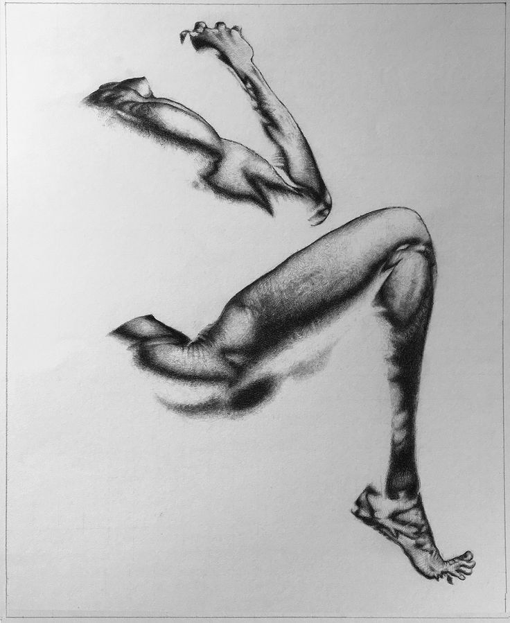 Andrea Randi -  Sorrow  matita su cartoncino
