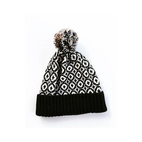 Urban beanie hat, Mne's knitted hat, knit beanie for men