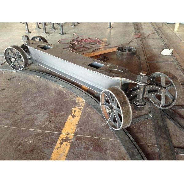 Train Crank Table. Vintage Industrial FurnitureSteampunk ...