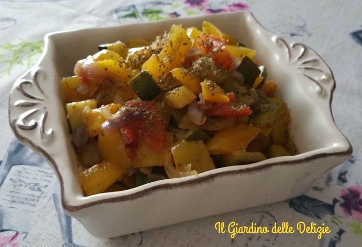 Verdure+cotte+al+microonde