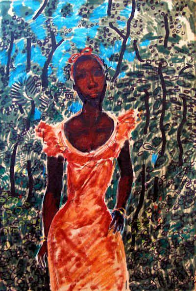 """Poised"" by Geoffrey Holder"