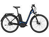 Bergamont E-Ville C N330 500 Bosch Pedelec Elektro Fahrrad schwarz/blau 2016: Größe: 56cm (178-186cm)