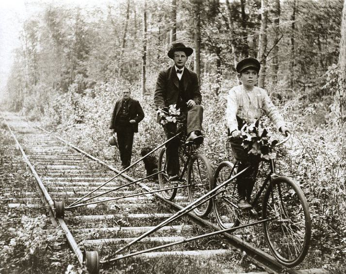 invention railroad track bicycle - photo #11