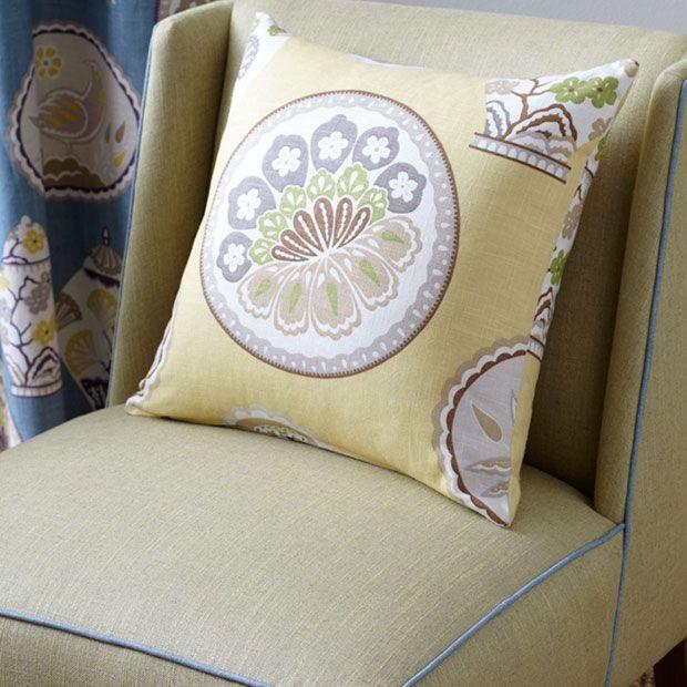 Warwick Fabrics: CHERRY GARDEN