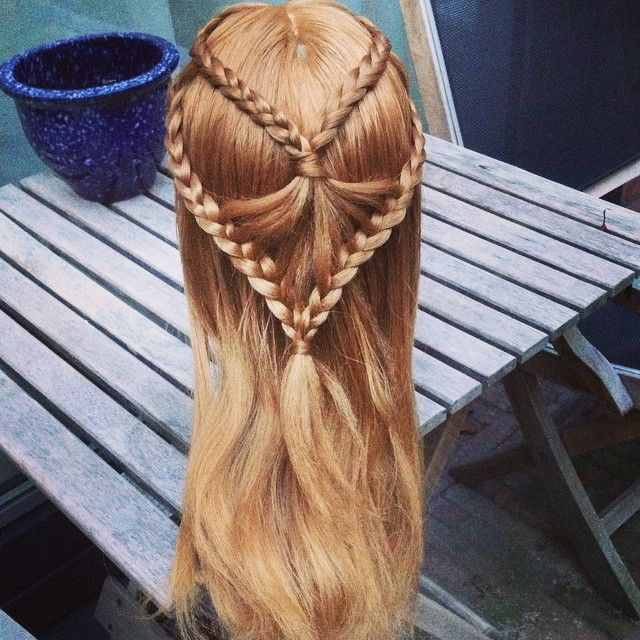 Hairstyle App: 1000+ Images About Tie-Back Hairstyles On Pinterest