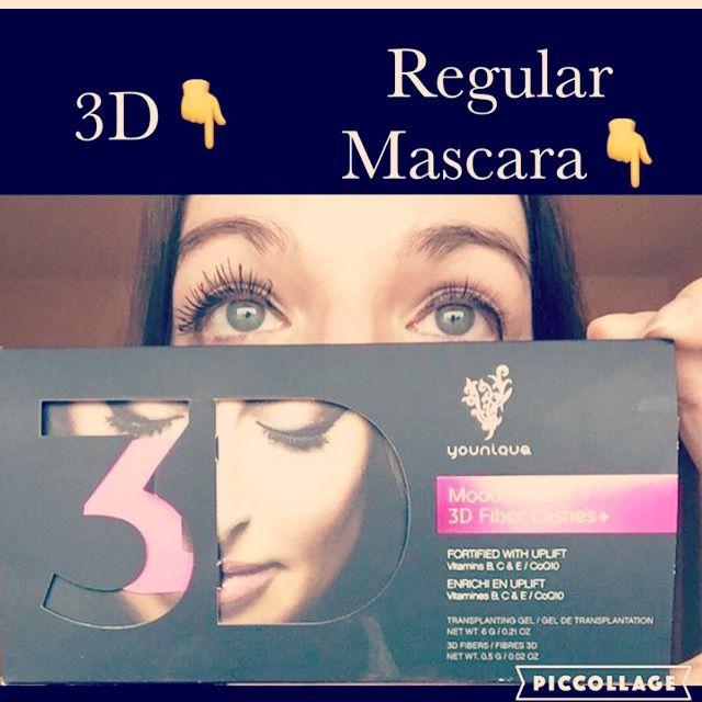 3D mascara vs your brand = mind blown   makeupaddictstash.com  #mascara #makeup on #fleek #try #love #younique #beauty #lashes #falsies #mommy #mua #ladies #blogger #youniqueproducts #lashcrack #makeupaddict #stash #mascaramonday #vs #mindblown #wow #results
