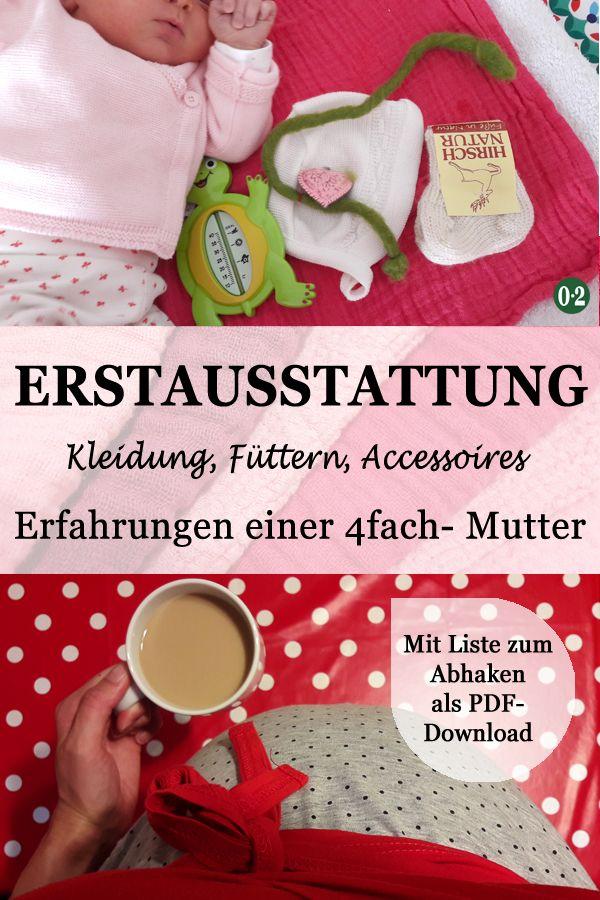 Entspannt aufs Baby vorbereiten: Meine Bucket List {Mit Erstausstattung zum Download – Nullpunktzwo | Blog über Familie in Patchwork