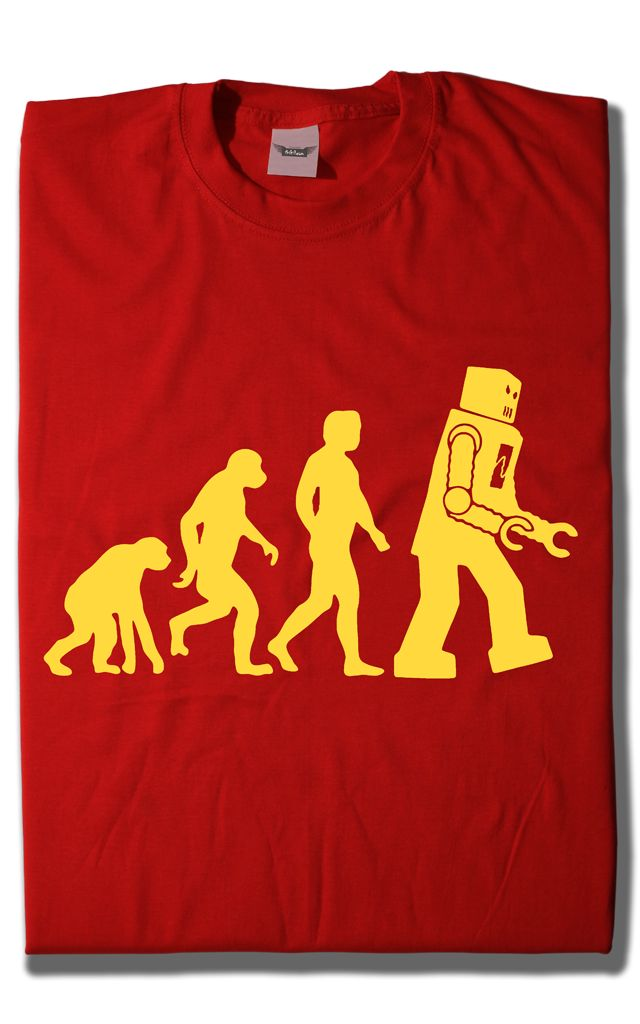 Camiseta Evolución Robot