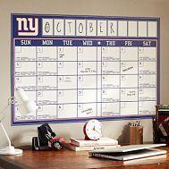 NFL Calendar Decal - GO GIANTS