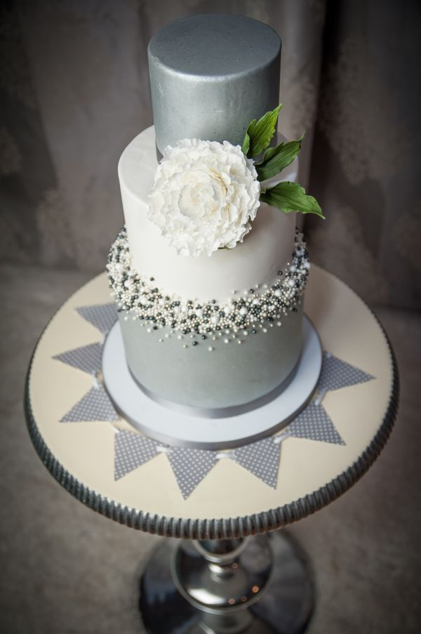 Grey Blue and Silver Wedding Inspiration from
