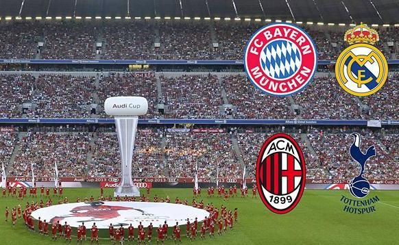Jogo Bayern de Munique x Real Madrid AO VIVO 05-08-2015 - Copa Audi - Final