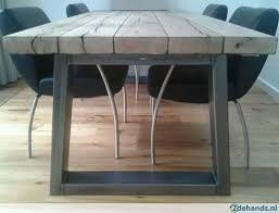tafel hout rvs - Google zoeken