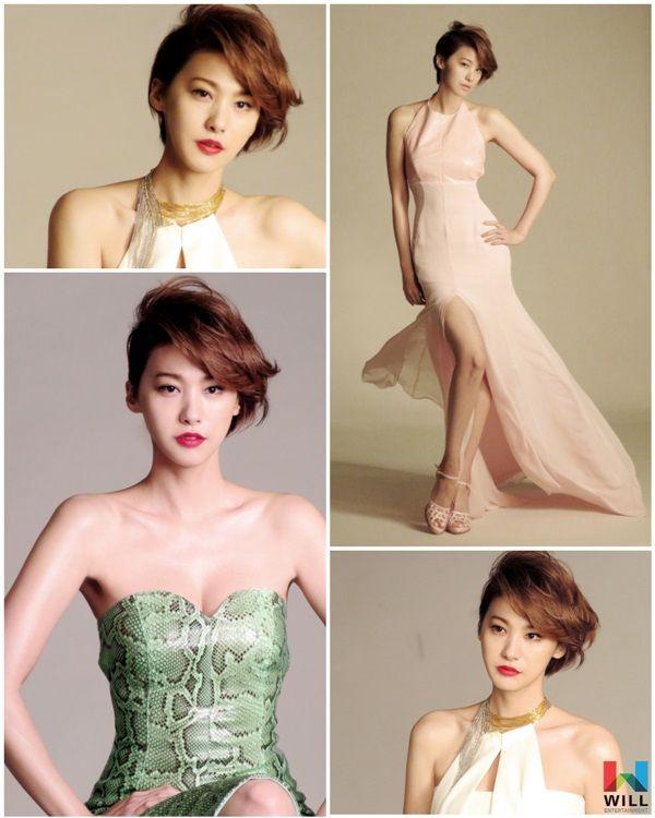 유인영, 숨막히는 드레스 자태