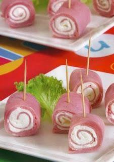 aperitivos faciles y rapidos | Recetas fáciles de aperitivos para buffet - Paperblog