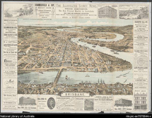 Brisbane -  Illustrated Sydney news, 1888