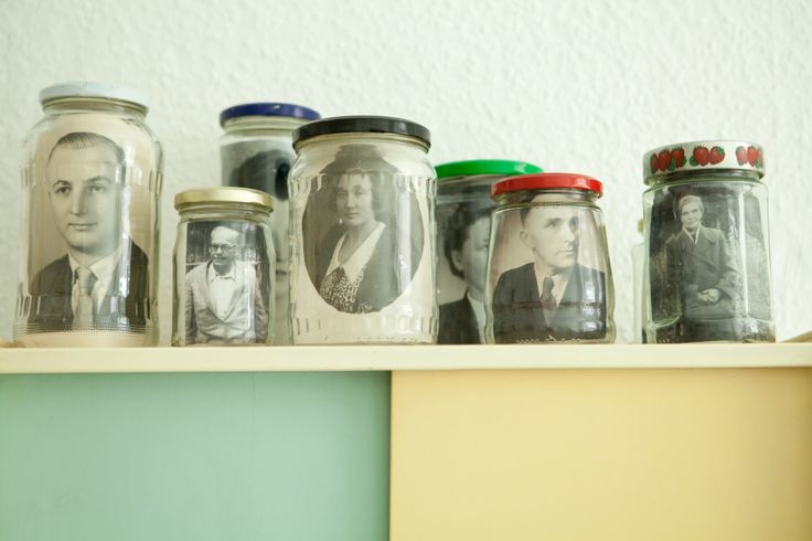 Old pictures, well conserved in Jars by Theresa Martinat — Photographer and Writer, Apartment, Neukölln, Berlin