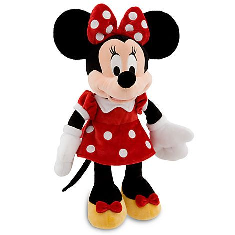 Minnie Mouse Plush - Red - 19'' | Mickey & Friends | Girls | Baby | Disney…