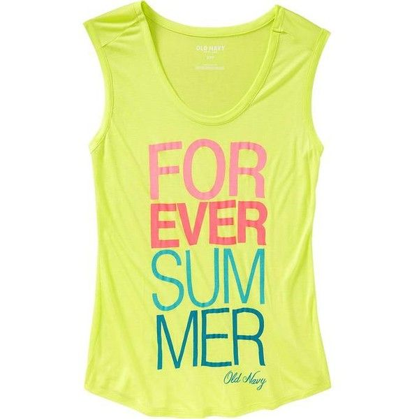 Old Navy Womens Graphic Muscle Tees - Persian melon ($3.97) ❤ liked on Polyvore featuring tops, shirts, tank tops, tanks, blusas, women, graphic tank, old navy shirts, old navy and fitted shirt
