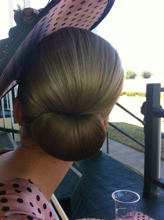 A perfect hair do