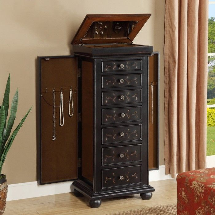 291 best Jewelry Armoire images on Pinterest Jewelry cabinet