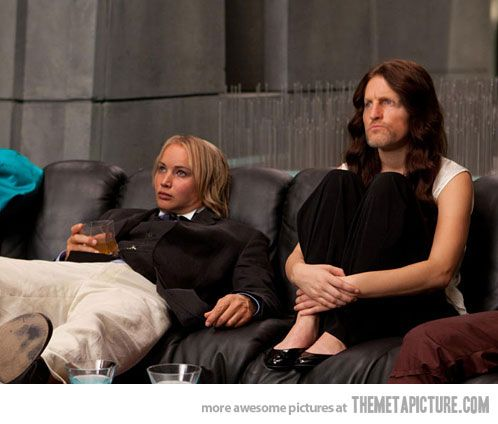 """hunger games funny   The Hunger Games"""" Face Swap - The Meta Picture"""