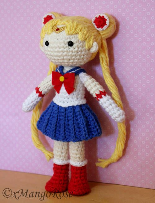 Moon Amigurumi Pattern Free : 25+ best ideas about Sailor Moon Crochet on Pinterest ...