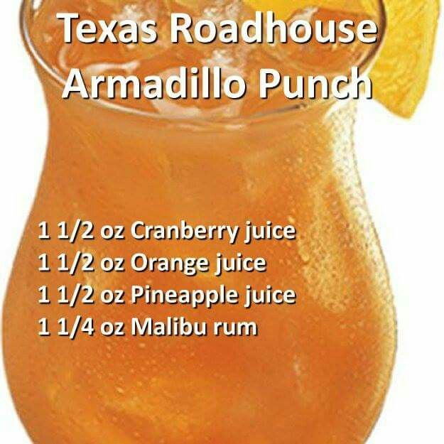 Texas Roadhouse Armadillo Punch