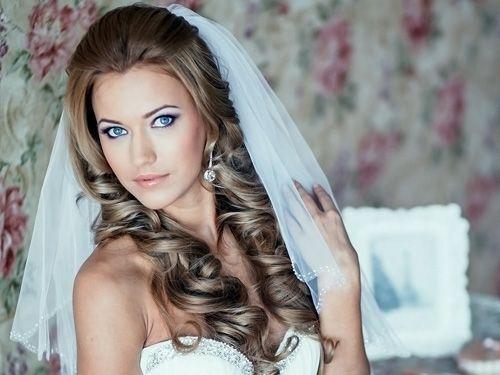 прическа на свадьбу с фатой фото - Поиск в Google