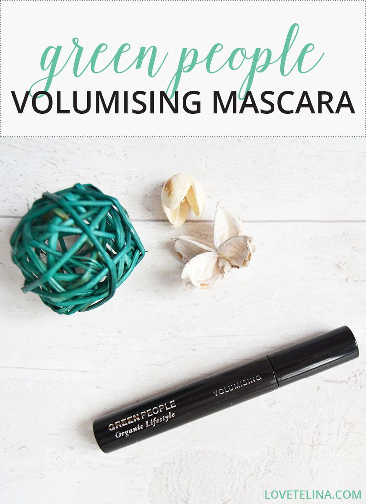 My thoughts on Green People's Organic Lifestyle Volumising Mascara. #organicbeauty #greenbeauty