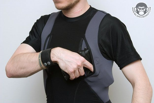 Holster Shirt | How To Choose the Best and High Quality Holsters by Gun Carrier at http://guncarrier.com/13-best-concealed-carry-holsters/