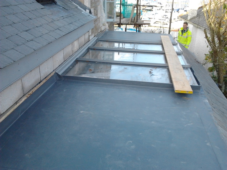 Single Ply Roofing Mylor Roof Architecture Flat Roof