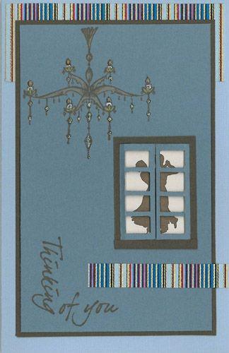 Stamp-it Australia: 3992C Dancing, 4032E Chandelier, 4076D Thinking Corner - Card by Susan