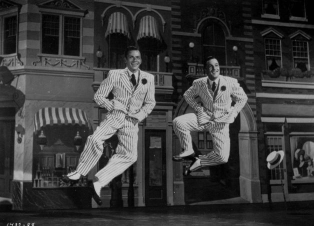 Gene Kelly e Frank Sinatra