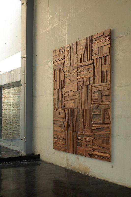 Peter Glassford Parota Wood • 2' square tiles